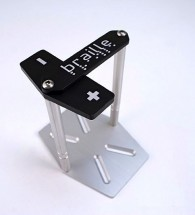 Braille Vertical Aluminium Battery Mount Kit (211)