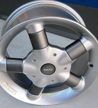 Momo Alloy Wheel 16x7.5 Five stud 112PCD 35offset VW/Audi Mercedes