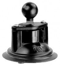 "RAM 3.25"" Diameter Suction Cup Twist Lock Base with 1"" Ball  RAM-B-224-1U"